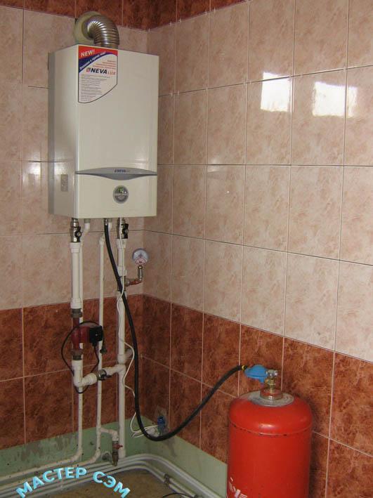 Установка газового водонагревателя своими руками 371