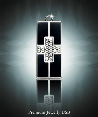 Гламурные USB флешки с кристаллами Swarovski